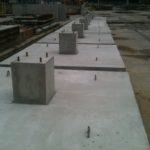 Podwaliny betonowe
