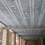widok stropów teriva